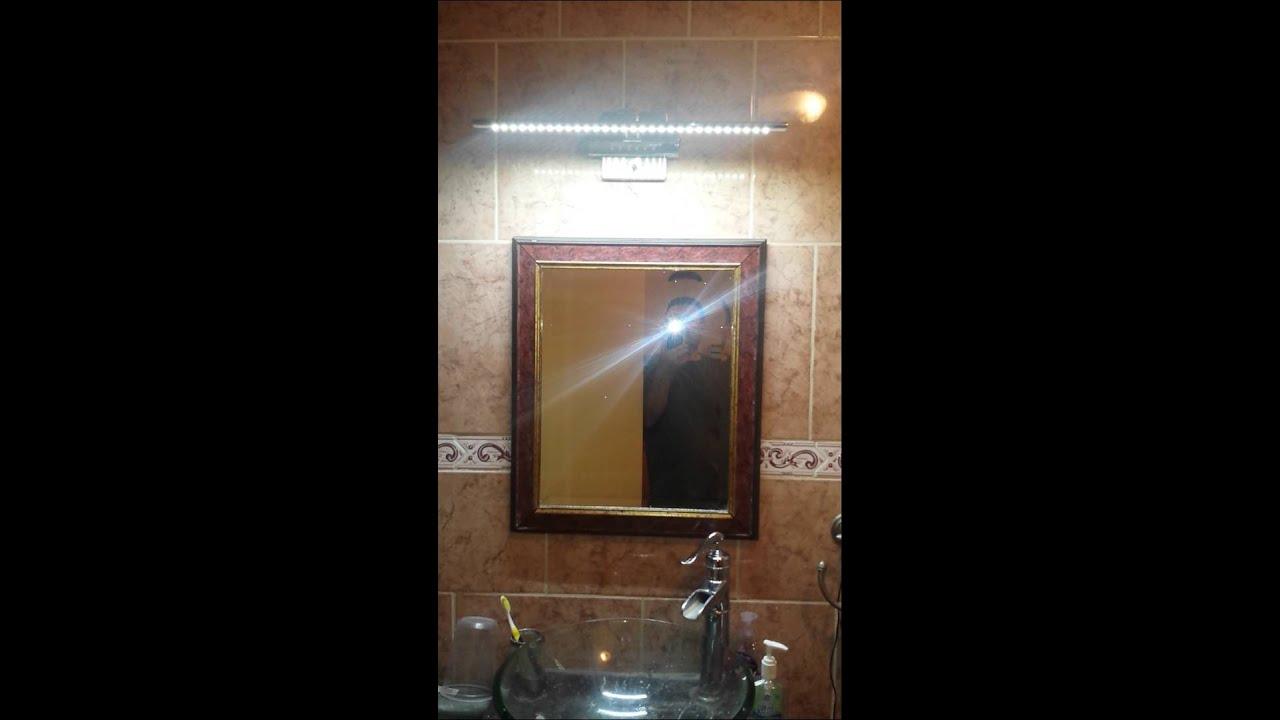 Bathroom Lights Ebay beautiful led bathroom light for $20 on ebay - youtube