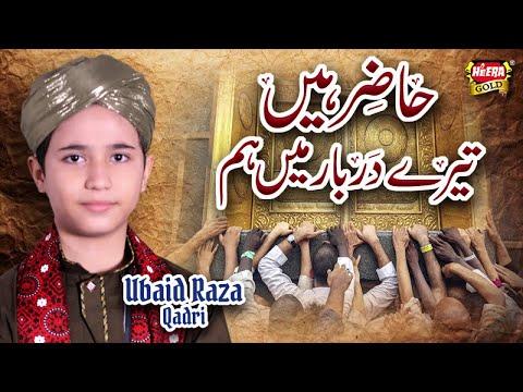Ubaid Raza Qadri - Hazir Hain Tere Darbar Main - Hajj Special Kalaam 2018 - Heera Gold