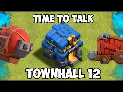 LET'S TALK TOWNHALL 12! Ft. General Tony + EchoThruMe - Clash Of Clans Podcast!