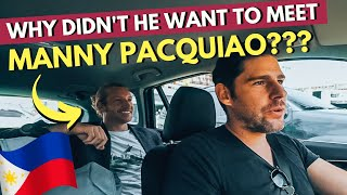 WHY on earth DIDN'T he WANT to MEET MANNY PACQUIAO???