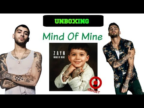 Unboxing Mind Of Mine (Target Edition) - Zayn Malik