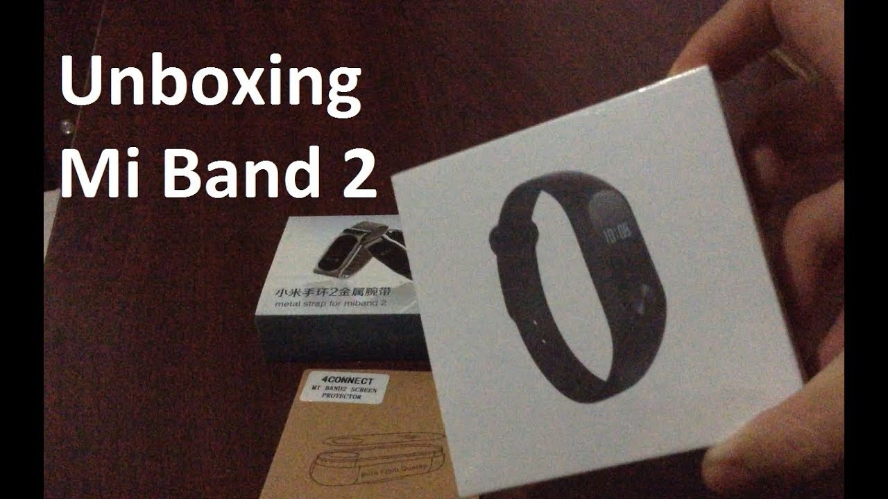 Unboxing Mi Band 2 Mijobs Metal Strap Youtube Xiaomi Oled Replacement Stainless Steel Silver
