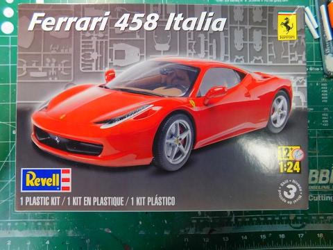 Revell Ferrari 458 Italia Video #1
