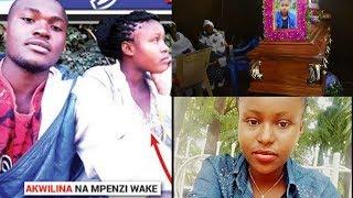 Akwilina Akiwa na Mpenzi Wake Enzi za Uhai Wake