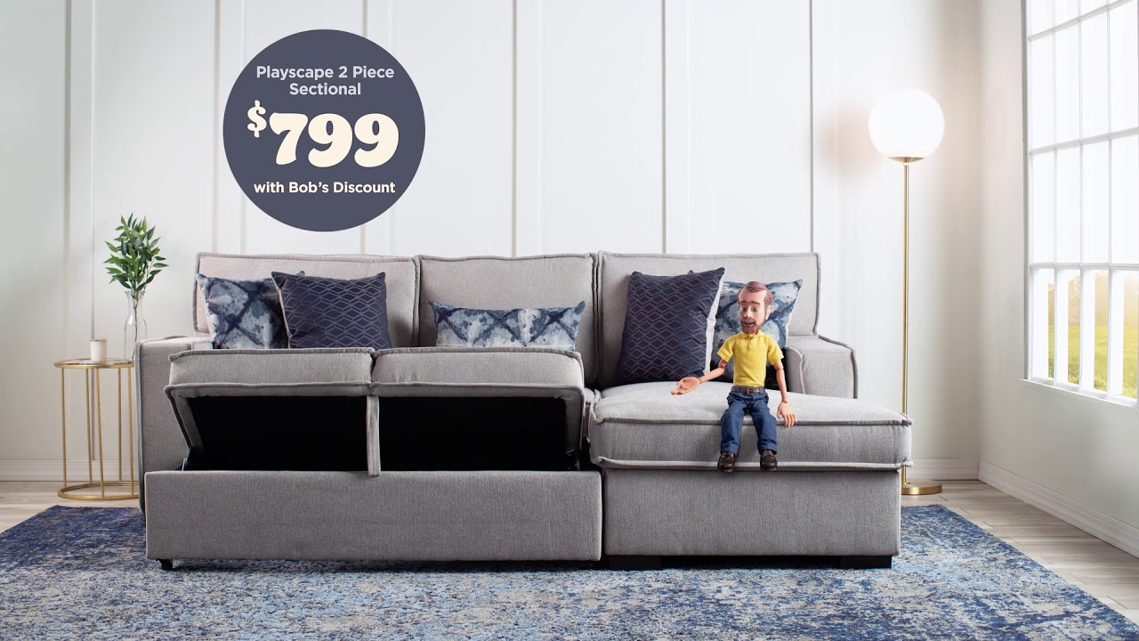 Playscape 2 Piece Sectional | Bob\'s Discount Furniture