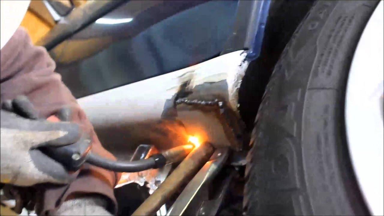 Car Frame Rust Repair Subaru