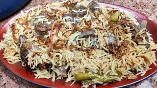 Eid special quick simple & tasty mutton pulao recipe | Mutton yakhni Pulao recipe |