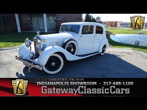 STK# 1178 1935 Rolls-Royce 20/25- Indianapolis Showroom