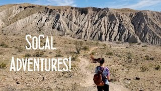 SKOOLIE TRAVEL VLOG // THE BEST hiking and skiing in California