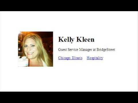 Kelly Kleen, Guest Service Manager, Bridge Street Serviced A
