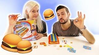 BURGER MANIA CHALLENGE | KAAN VS NINA - WER WIRD BURGERMEISTER? Hamburger Wettrennen