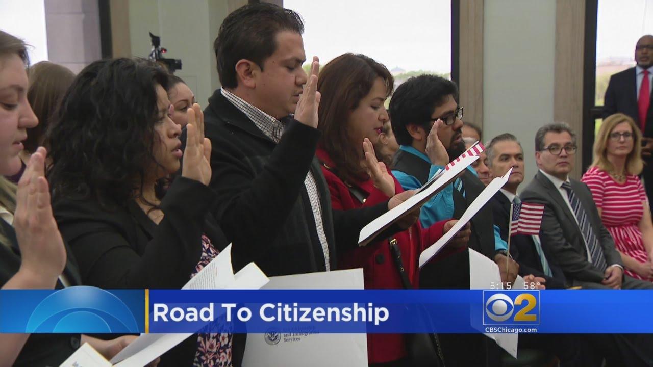 Mayor Emanuel Hosts Naturalization Ceremony