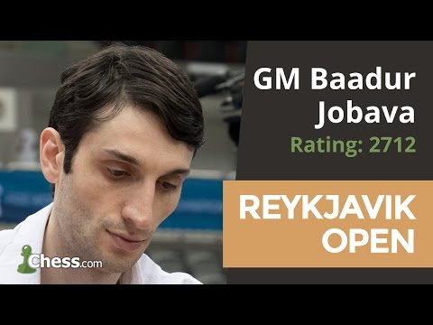 Reykjavik Open: GM Baadur Jobava Wins A Crazy Game