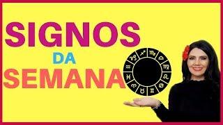 PREVISÃO HOROSCOPO DA SEMANA - TODOS OS SIGNOS E NÚMEROS DA SORTE 07-10 A 13-10-2018