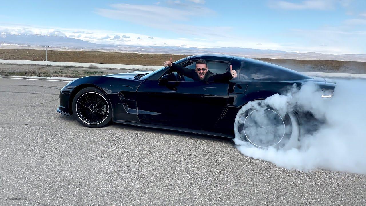 პროექტი – Corvette ZR1 – დაე დაიწვას ყველა საბურავი!