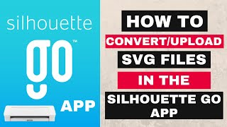 Silhouette Go App   How to use/upload SVG Files in Silhouette Go screenshot 3