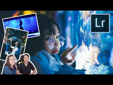 Lightroom โทน Aquarium Ocean World - วันที่ 15 Oct 2018