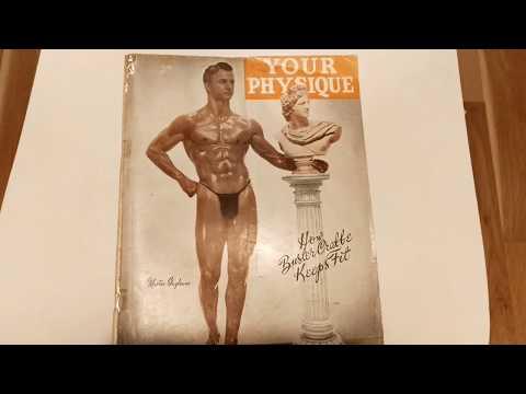 Your Physique magazine 1946 January, Eugene Sandow! Part D