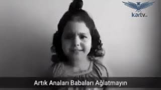 Küçük Kızın İsyanı  Çocuk İstismarına Hayır