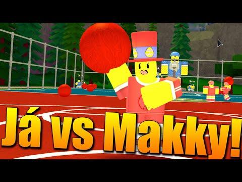 VENDALI TÝM VS MAKKY TÝM!😱🔥 Roblox Dodgeball w/Makousek