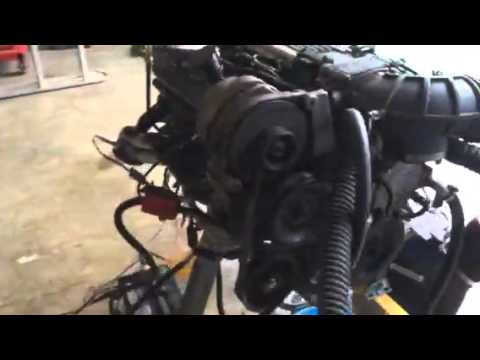 1995 LT1 running on engine stand Stand alone harness and PCM