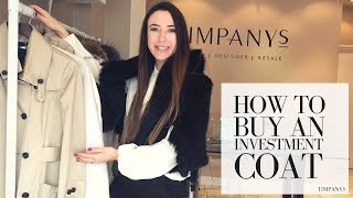 HOW TO BUY AN INVESTMENT COAT