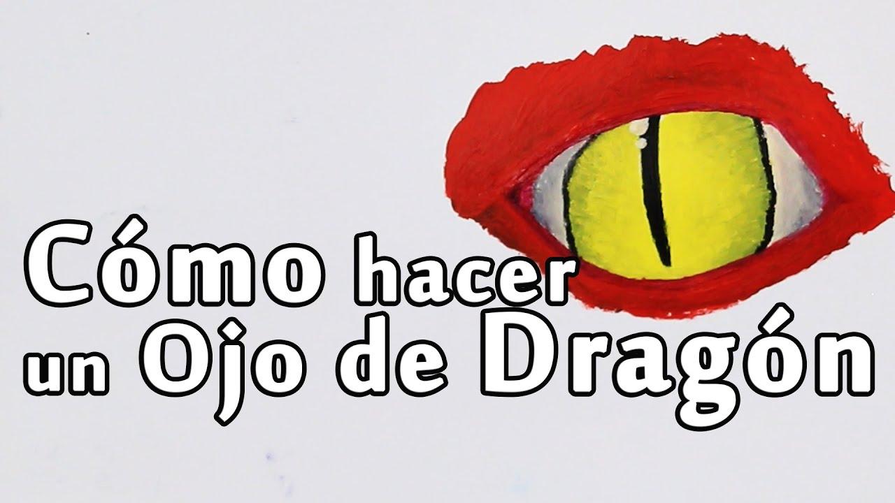 Cmo hacer un Ojo de Dragn con Pinturas  Arte Track  YouTube