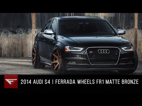 2014 Audi S4 | Ferrada FR1 Matte Bronze with Gloss Black Lip