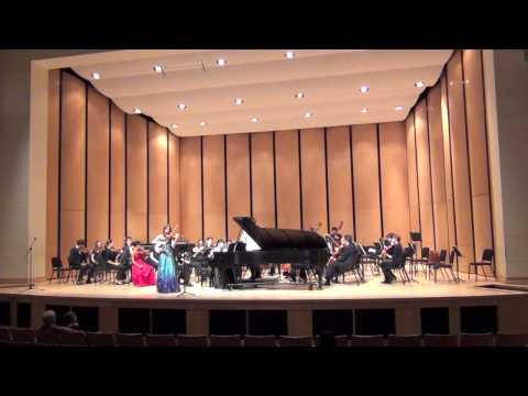 Chloe Trevor Mendelssohn Double Concerto (Part 1)