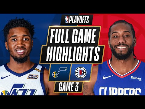 Download #1 JAZZ at #4 CLIPPERS   FULL GAME HIGHLIGHTS   June 12, 2021