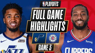 #1 JAZZ at #4 CLIPPERS | FULL GAME HIGHLIGHTS | June 12, 2021