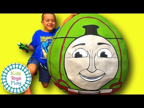 Thomas and Friends GIANT Surprise Egg | Thomas Train Biggest Henry Surprise Egg & Playtime