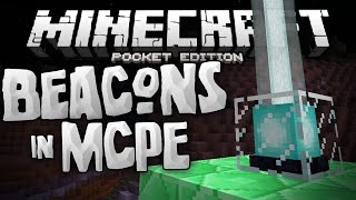 BEACONS in MCPE!!! - Fully Working Beacons Mod for 0.14.0 - Minecraft PE (Pocket Edition)