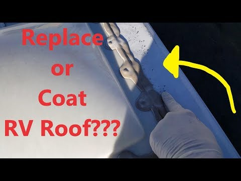 Extending the Life of an Old RV Rubber Roof!