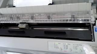 Epson FX - 2190 toda revisada na Aga Impressoras Sorocaba em 26/10/2016