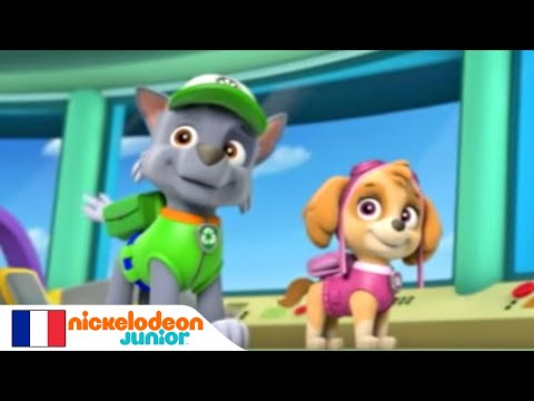 paw patrol la pat 39 patrouille la mission nickelodeon junior youtube. Black Bedroom Furniture Sets. Home Design Ideas