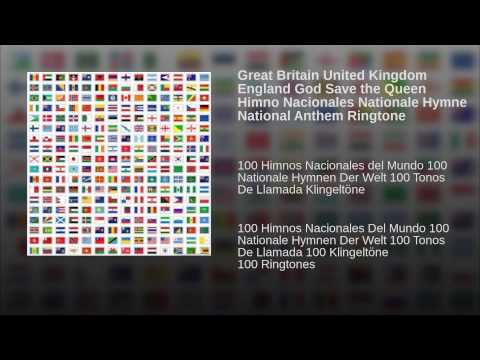 Great Britain United Kingdom England God Save the Queen Himno Nacionales Nationale Hymne
