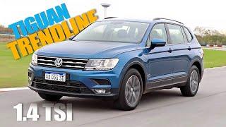 Volkswagen Tiguan Allspace 1.4 TSI Trendline - Minitest - Matías Antico - TN Autos