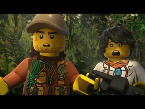 Jungle Rumble Part 1 - LEGO City - Mini Movie