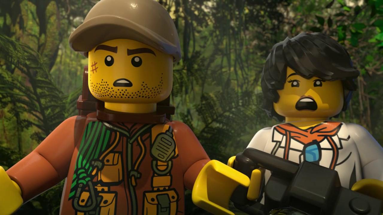 Jungle Rumble Part 1 Lego City Mini Movie Youtube