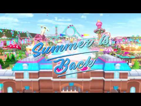 Atari Releases RollerCoaster Tycoon Touch Summer Update