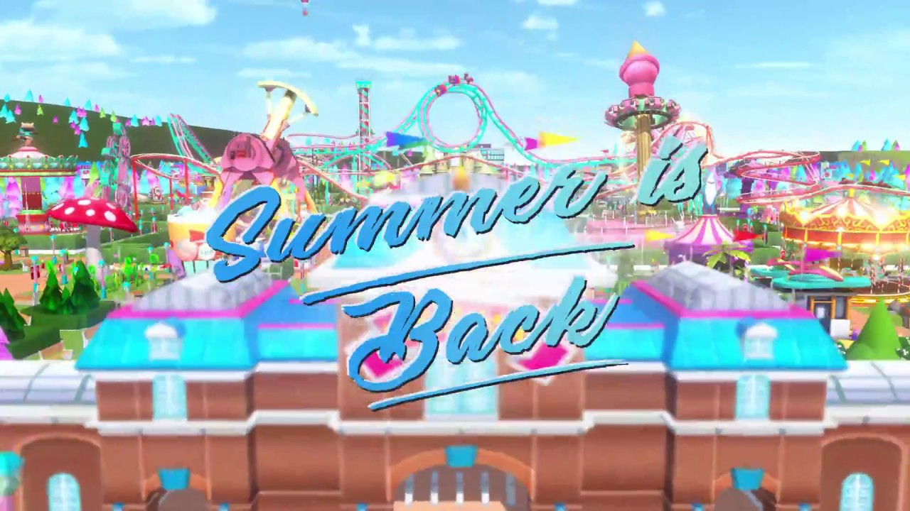 RollerCoaster Tycoon Touch celebrates summer - News From The