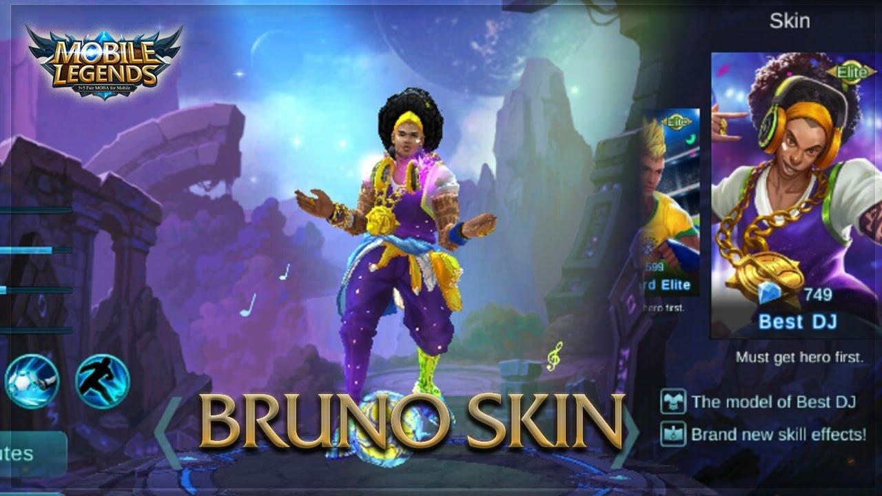 Wallpaper Mobile Legend Bruno