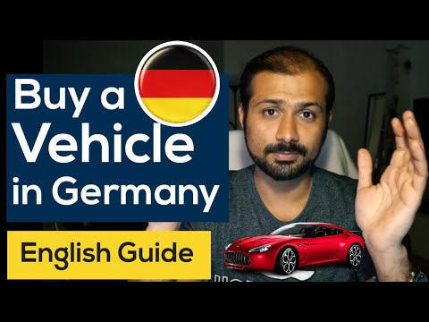 How to buy a vehicle in Germany