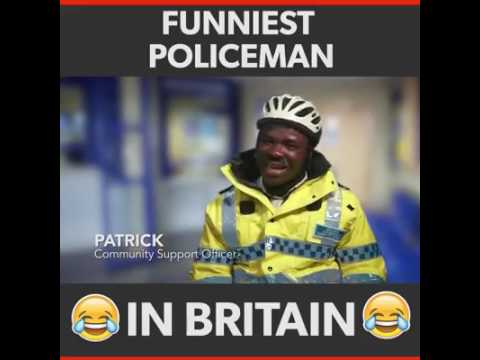 funniest policeman in the world