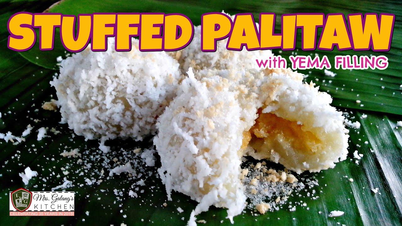 STUFFED PALITAW with YEMA FILLING (Mrs. Galang's Kitchen S2 Ep11)