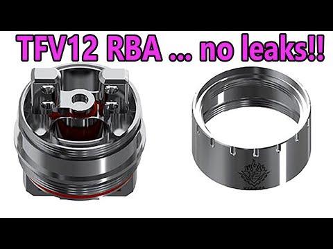 Smok TFV12 RBA Build No leaks! | The cloud beast king.