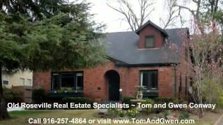 Historic Old Roseville California Real Estate Video