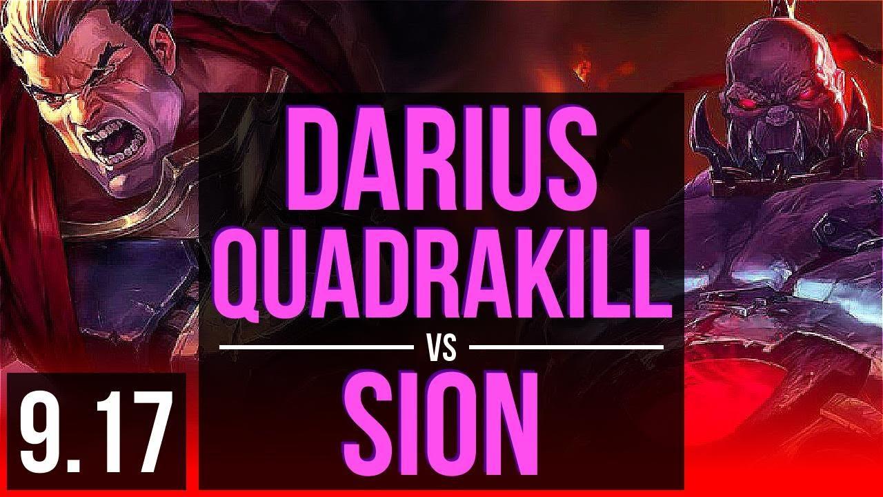 Darius Vs Sion