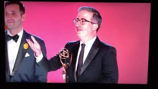 John Oliver Acceptance Speech at The Emmys 2021